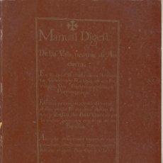 Libros de segunda mano: MANUAL DIGEST DE LES VALLS NEUTRAS D'ANDORRA 1748 CONSELL D'ANDORRA 1987. Lote 71473271