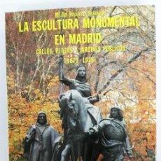 Libros de segunda mano: Mª DEL SOCORRO SALVADOR, LA ESCULTURA MONUMENTAL EN MADRID: CALLES, PLAZAS Y JARDINES PÚBLICOS (1875. Lote 71615567