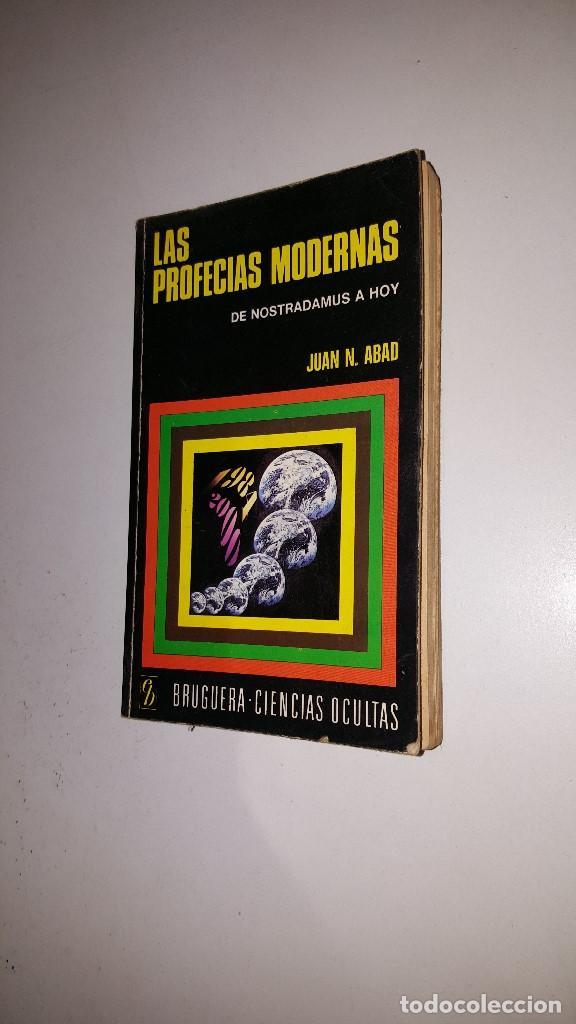 LAS PROFECIAS MODERNAS -1975 - JUAN ABAD - 2º ED (Libros de Segunda Mano - Parapsicología y Esoterismo - Otros)