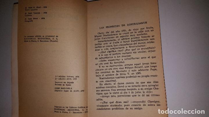 Libros de segunda mano: LAS PROFECIAS MODERNAS -1975 - JUAN ABAD - 2º ED - Foto 3 - 71629811