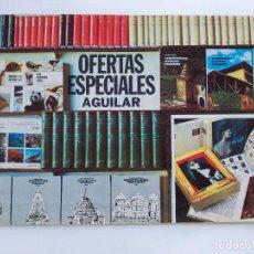 Libros de segunda mano: CATALOGO OFERTAS ESPECIALES AGUILAR - 1975 - 20 PAGINAS. Lote 71706915