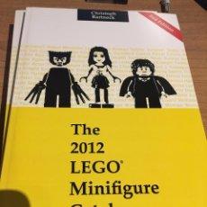Libros de segunda mano: THE 2012 LEGO MINIFIGURE CATALOG - CATALOGO DE MINIFIGURAS LEGO. Lote 71737607