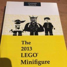 Libros de segunda mano: THE 2013 LEGO MINIFIGURE CATALOG - CATALOGO DE MINIFIGURAS LEGO. Lote 71737895