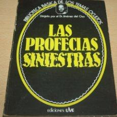 Libros de segunda mano: LAS PROFECIAS SINIESTRAS - JIMÉNEZ DEL OSO. Lote 71851127