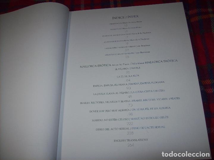 Libros de segunda mano: MALLORCA ERÒTICA .RECULL DE CANÇONS ERÒTIQUES I DEL CAMP MALLORQUÍ.JOAN BENNÀSSAR.2007. ÚNICO EN TC! - Foto 4 - 104698196