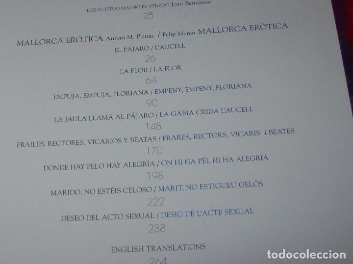 Libros de segunda mano: MALLORCA ERÒTICA .RECULL DE CANÇONS ERÒTIQUES I DEL CAMP MALLORQUÍ.JOAN BENNÀSSAR.2007. ÚNICO EN TC! - Foto 6 - 104698196