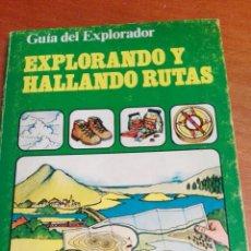 Libros de segunda mano: C62 EDICIONES PLESA GUIA DEL EXPLORADOR EXPLORANDO Y HALLANDO RUTAS. Lote 72071610