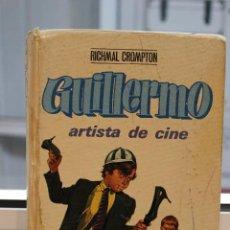 Libros de segunda mano: GUILLERMO ARTISTA DE CINE RICHMAL CROMPTON 1969 ED. MOLINO ILUSTRADO POR J.RUBIO 188 PÁG. Lote 72151123