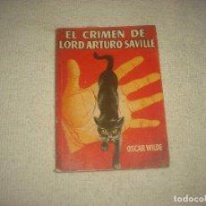 Libros de segunda mano: PULGA N° 185 . EL CRIMEN DE LORD ARTURO SAVILLE . OSCAR WILDE. Lote 72329907