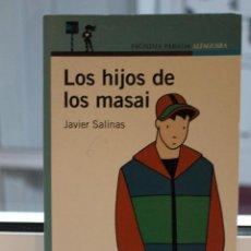 Libros de segunda mano: LOS HIJOS DE LOS MASAI, JAVIER SALINAS. ILUSTRACIONES MARIA ALCOBRE. ALFAGUARA 2004. Lote 72343731