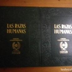 Libros de segunda mano: LAS RAZAS HUMANAS INSTITUTO GALLACH. Lote 72382911