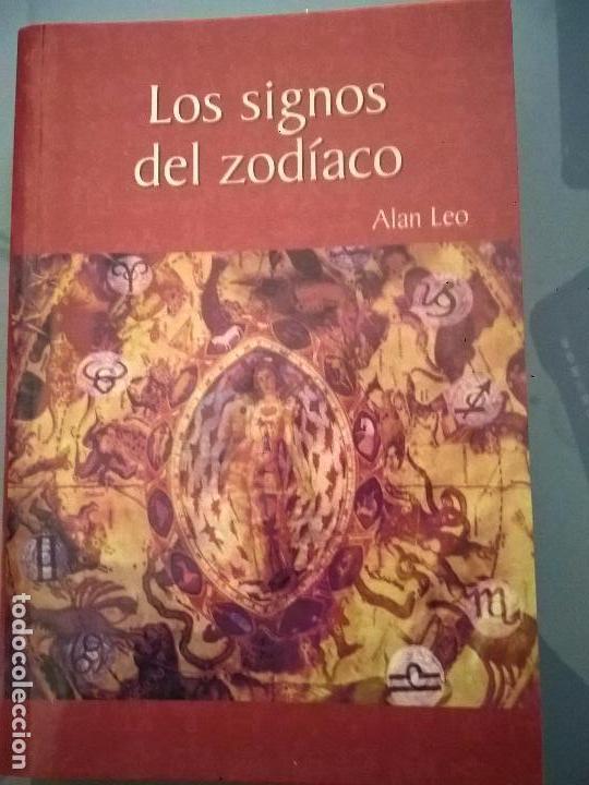 Libros de segunda mano: LOS SIGNOS DEL ZODIACO. ALAN LEO. - Foto 2 - 56919916
