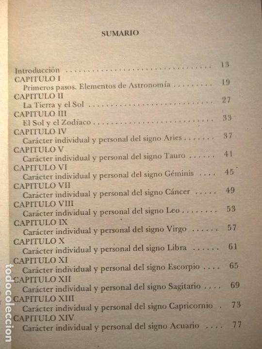 Libros de segunda mano: LOS SIGNOS DEL ZODIACO. ALAN LEO. - Foto 3 - 56919916