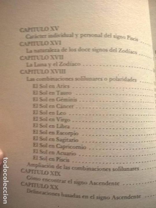 Libros de segunda mano: LOS SIGNOS DEL ZODIACO. ALAN LEO. - Foto 4 - 56919916