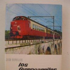 Libros de segunda mano: LOS FERROCARRILES - JOSÉ REPOLLÉS - ENCICLOPEDIA EL MUNDO Y EL HOMBRE - BRUGUERA - AÑO 1965.. Lote 72862127