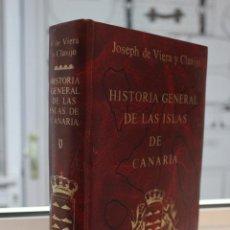 Libros de segunda mano: NOTICIAS DE LA HISTORIA GENERAL DE LAS ISLAS DE CANARIA, JOSE DE VIERA Y CLAVIJO. TOMO V. CANARIAS. Lote 72900375