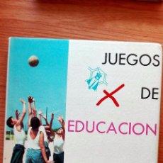 Libros de segunda mano: JUEGOS DE EDUCACIÓN FÍSICA. PABLO GÓMEZ DEL VALLE. SANTILLANA. 1963. Lote 72903911