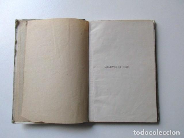 Libros de segunda mano: LECCIONES DE JESÚS, P. LUIS RIBERA, GRÁFICAS CLARET, BARCELONA, AÑO 1955 - Foto 3 - 72925739