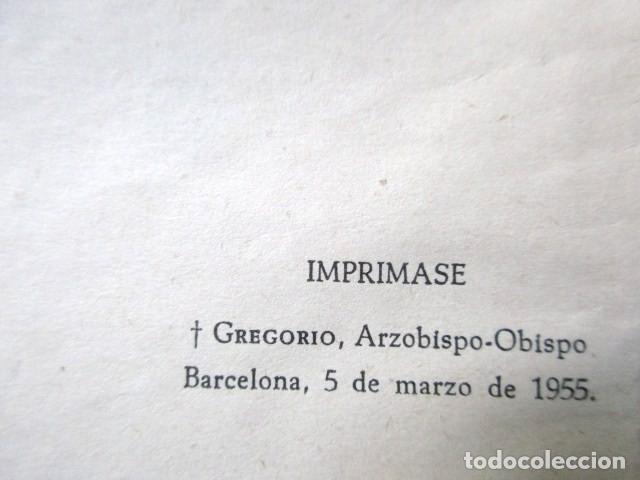 Libros de segunda mano: LECCIONES DE JESÚS, P. LUIS RIBERA, GRÁFICAS CLARET, BARCELONA, AÑO 1955 - Foto 4 - 72925739