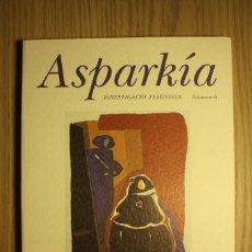 Libros de segunda mano: ASPARKIA - INVESTIGACIÓN FEMINISTA - Nº6, MUJER, MUJERES: ARTE Y CULTURA - UNIVERSITAT JAUME I, 1996. Lote 72928155