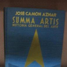 Libros de segunda mano: SUMMA ARTIS. HISTORIA GENERAL DEL ARTE. (VOL XXIV) LA PINTURA ESPAÑOLA DEL SIGLO XVI. J CAMON AZNAR.. Lote 73015243