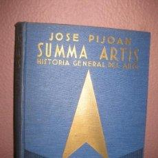 Libros de segunda mano: SUMMA ARTIS. (VOL. XVIII). LA ESCULTURA Y LA REJERIA ESPAÑOLA DEL SIGLO XVI. JOSE PIJOAN .. Lote 73015719