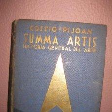 Libros de segunda mano: SUMMA ARTIS. Hª GENERAL DEL ARTE (VOL IV). EL ARTE GRIEGO. COSSIO - PIJOAN. ESPASA CALPE 1932. Lote 73017739