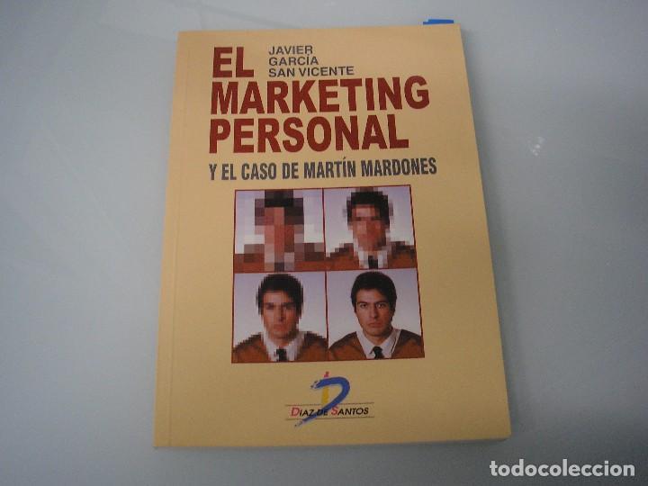 EL MARKETING PERSONAL Y EL CASO DE MARTÍN MARDONES - JAVIER GARCÍA SAN VICENTE - 1998 ¡NUEVO! (Libros de Segunda Mano - Ciencias, Manuales y Oficios - Otros)