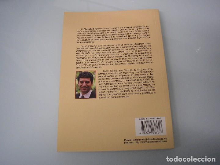 Libros de segunda mano: El Marketing personal y el caso de Martín Mardones - Javier García San Vicente - 1998 ¡NUEVO! - Foto 2 - 73414311