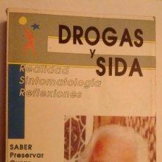 Libros de segunda mano: DROGAS Y SIDA. REALIDAD, SINTOMATOLOGÍA, REFLEXIONES.. Lote 73432575