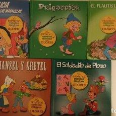 Libros de segunda mano: LOS PRIMEROS CUENTOS CLASICOS CON OLORES - LOTE DE 5. Lote 73486247