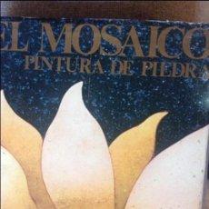 Libros de segunda mano: ELMOSAICO PINTURA DE PIEDRA.FERDINANDO ROSSI.1970.199 PG. ILUSTRADO. Lote 73527807