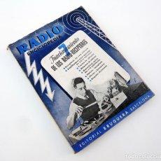Libros de segunda mano: FUNCIONAMIENTO DE LOS RADIO-RECEPTORES / ED. BRUGUERA 1944 / 1ª ED. / ILUSTRADO / RADIO. Lote 73537099