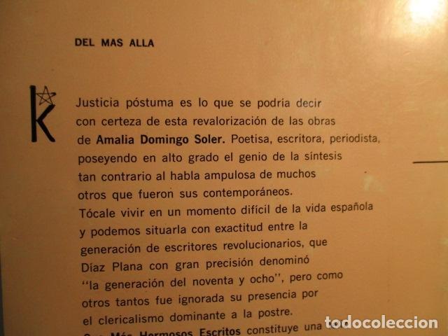 Libros de segunda mano: SUS MAS HERMOSOS ESCRITOS. - DOMINGO SOLER, AMALIA. KIER - Foto 15 - 73537455