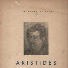 Libros de segunda mano: CUADERNOS DE ARTE 2. ENSAYO DE LEZAMA LIMA SOBRE ARISTIDES FERNANDEZ. HABANA. 1950. RUSTICA. 24X30CM. Lote 73636779