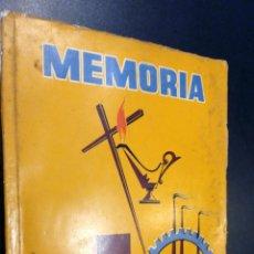 Libros de segunda mano: MEMORIA 1960 DIRECCION GENERAL DE PRISIONES. Lote 73647555
