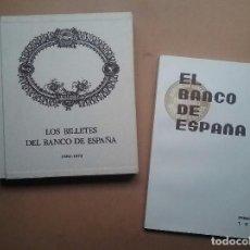 Libros de segunda mano: LOS BILLETES DEL BANCO DE ESPAÑA 1782 - 1974 LIBRO + INFORMACIÓN GRÁFICA 1936. Lote 73663867