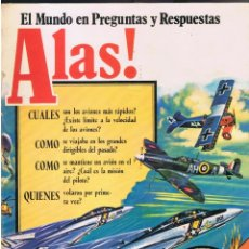 Libros de segunda mano: ALAS ! EL MUNDO EN PREGUNTAS Y RESPUESTAS 32 PAGINAG AÑO 1979 EDICIONES SM MD449. Lote 73670599