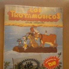 Libros de segunda mano: 1 LIBRO AÑO 1989 LOS TROTAMUSICOS Nº 4 - ¡ TODOS A BREMEN ! -ANAYA + REGALO PLIEGO CROMOS SERIE. Lote 73755811