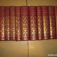 Libros de segunda mano: HISTORIA DE ESPAÑA (COMPLETA 12 TOMOS) - MANUEL BALLESTEROS - SALVAT EDITORES - (EN MUY BUEN ESTADO). Lote 73802907