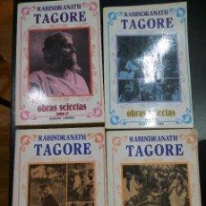Libros de segunda mano: OBRAS SELECTAS. RABINDRANATH TAGORE. 4 TOMOS. Lote 73806059