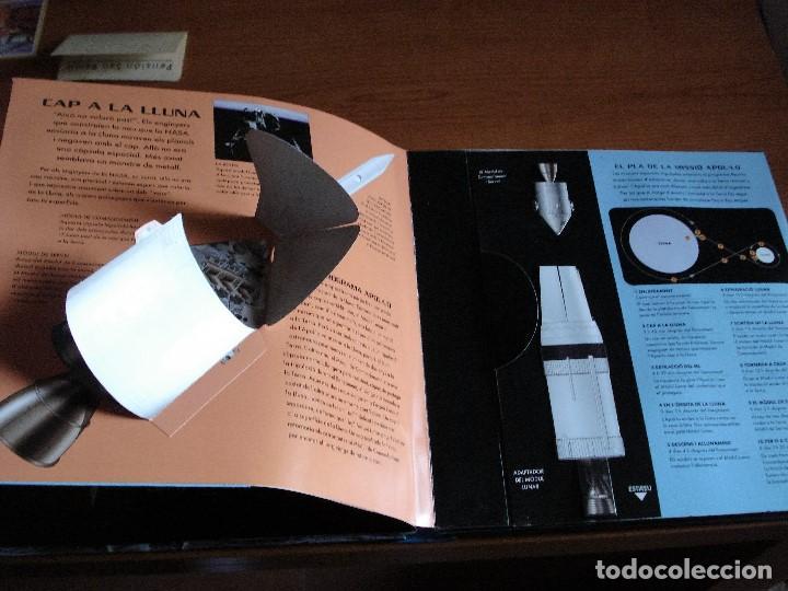 Libros de segunda mano: MISION APOLO - POP-UP- MISSIÓ APOL·LO 11 EL HOMBRE LLEGA A LA LUNA - Foto 5 - 73884359
