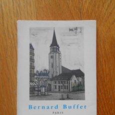 Libros de segunda mano: BERNARD BUFFET PARIS, EDITORIAL GUSTAVO GILI. Lote 73917939