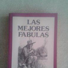 Libros de segunda mano: LAS MEJORES FABULAS DE IRIARTE, ESOPO, SAMANIEGO Y LA FONTAINE. AÑO 1990. Lote 73918355