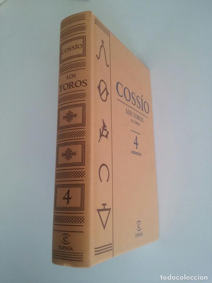 Libros de segunda mano: LOS TOROS DE COSSIO. EL TOREO TOMO 4 (ESPASA) - Foto 2 - 73928399