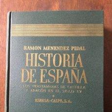 Livres d'occasion: LOS TRASTÁMARAS EN CASTILLA Y ARAGÓN EN EL SIGLO XV. L. SUÁREZ, A. CANELLAS Y J. VICENS VIVES.. Lote 73978923