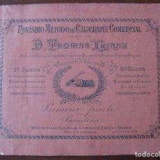 Libros de segunda mano: NOVISIMO METODO DE CALIGRAFIA COMERCIAL. 1900. Lote 74058427