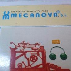 Libros de segunda mano: ANTIGUO LIBRO CURSO AUDIOVISUAL DE MECANOGRAFÍA AL TACTO. Lote 74251593