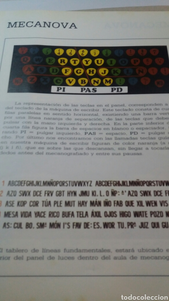 Libros de segunda mano: ANTIGUO LIBRO CURSO AUDIOVISUAL DE MECANOGRAFÍA AL TACTO - Foto 2 - 74251593