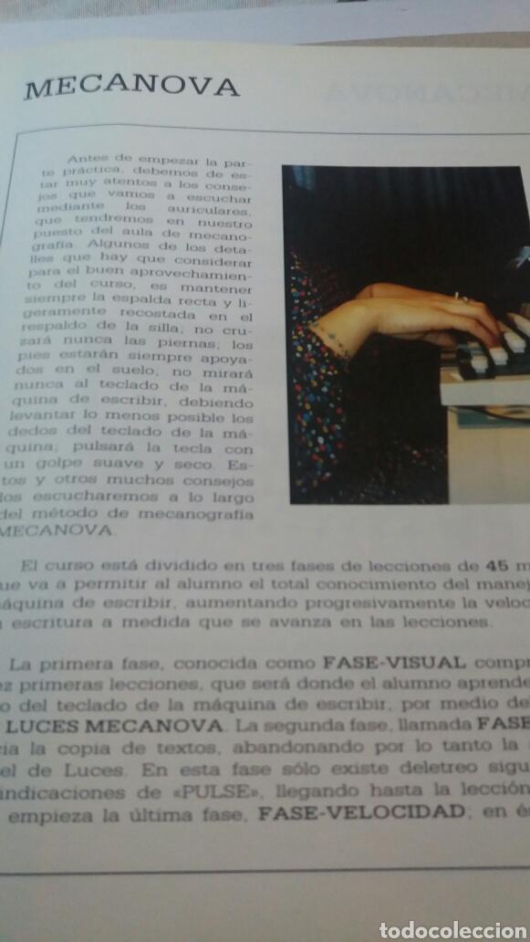 Libros de segunda mano: ANTIGUO LIBRO CURSO AUDIOVISUAL DE MECANOGRAFÍA AL TACTO - Foto 3 - 74251593